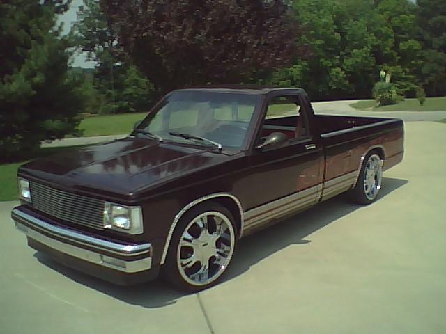 D Chevy S Tahoe Build on Chevy S10 Bed Length