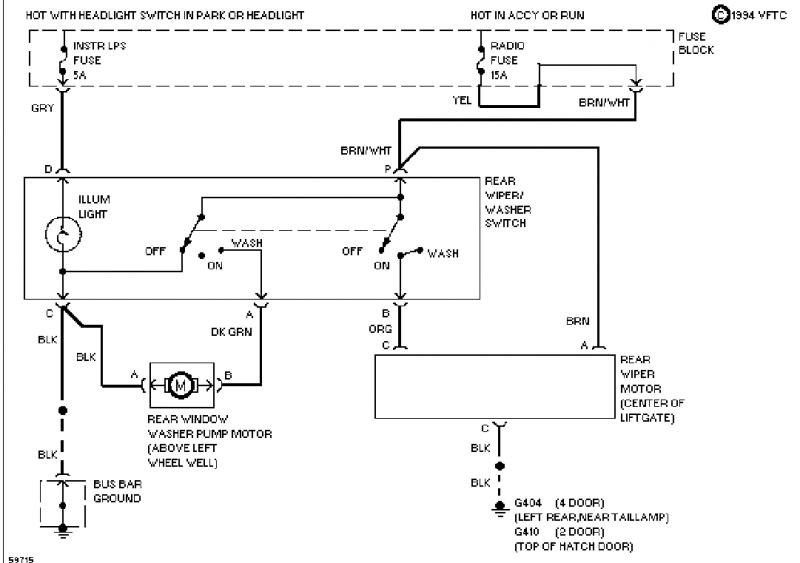 novice - need rear wiper circuit diagram for 94 s10 blazer ... 94 s10 wiring diagram 94 freightliner wiring diagram