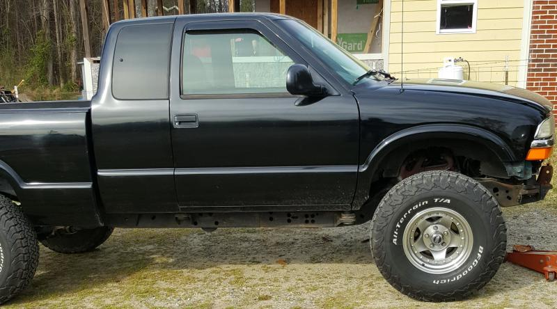 3 inch body lift on a 00 s10 | S-10 Forum