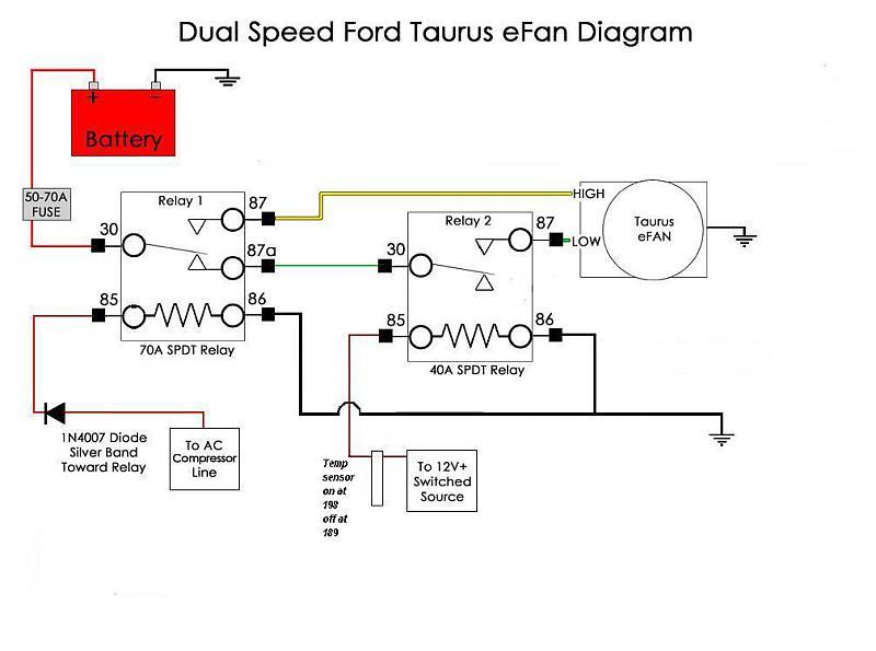 Hayden Electric Fan Wiring Diagram – Billy Knight on
