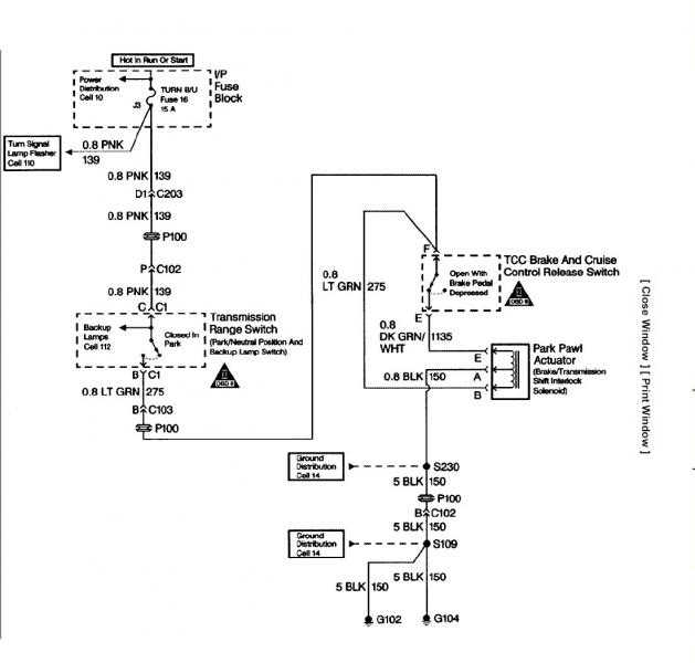 4l60e Park Neutral Switch Wiring Diagram