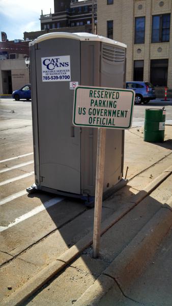 Post random stuff from cellphone cameras: Part II-govt.-parking.jpg