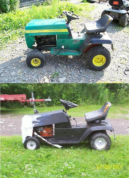 Lifted/Lowered Lawn Mowers.-mower-b4-and-after.jpg