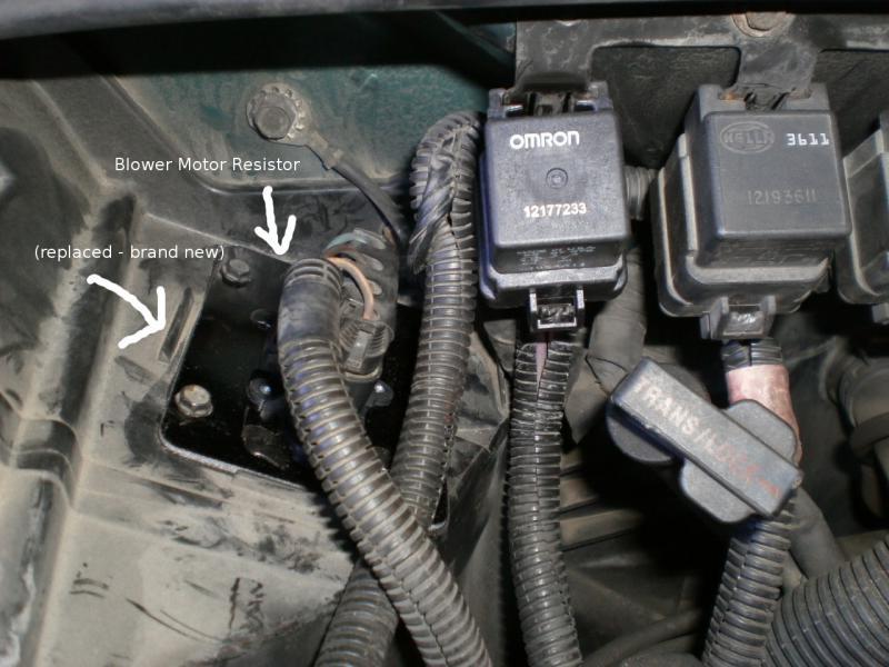 Blower Motor Relay Problem