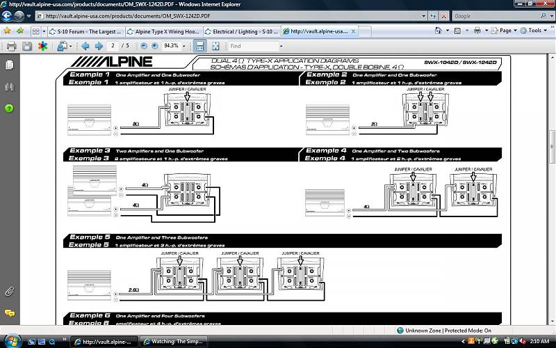Alpine Subwoofer Wiring Diagram from www.s10forum.com