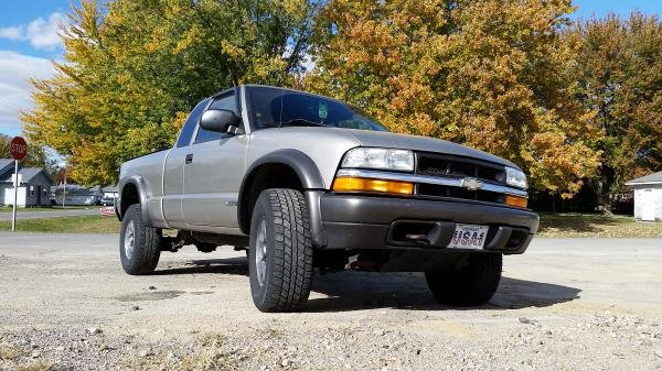 Showcase cover image for eamick23012's 2002 Chevy S10 ZR2