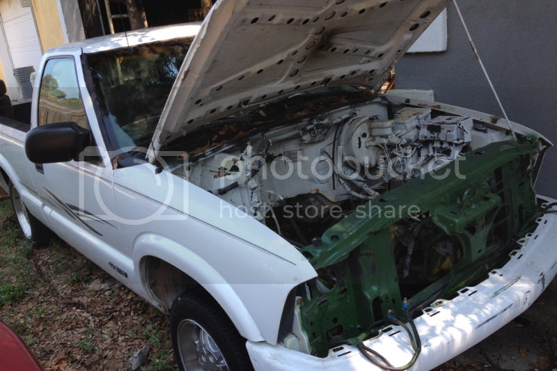 Sonoma Front end to s10 conversion?   S-10 Forum