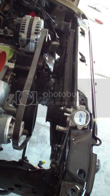 anyone try this V8 s10 radiator/fan kit? | S-10 Forum