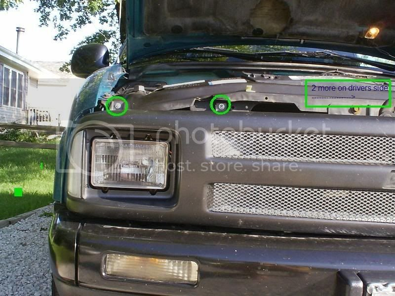 HOW TO: convert your 94-97 front clip to 98+ s-10 | S-10 Forum