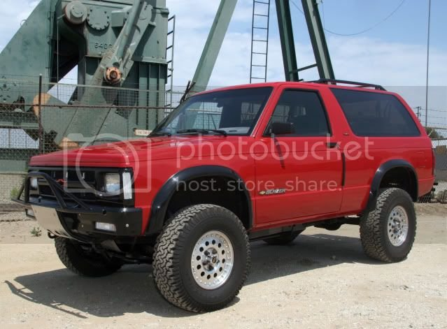 S10 Zr2 Rough Country Lift