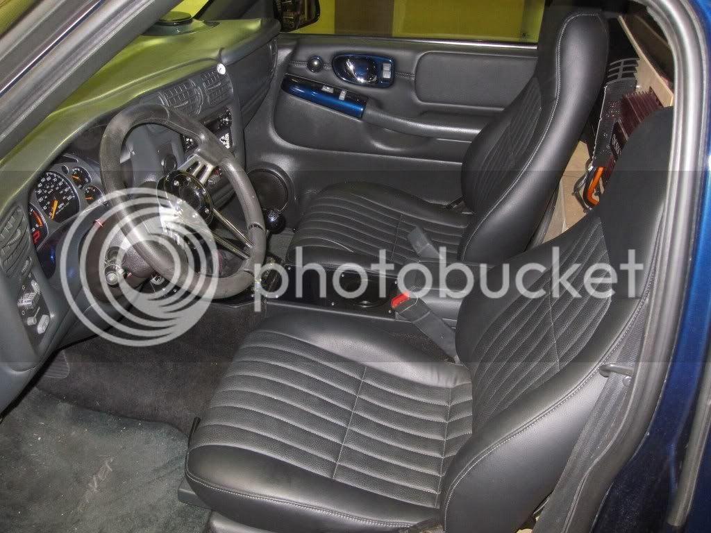 Camaro Seat Swap   S-10 Forum