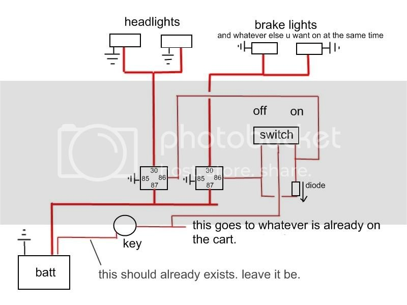 File  Golf Cart Brake Light Wiring Diagram