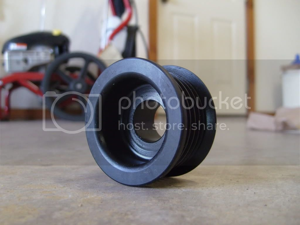 2 2 Underdrive Pulleys installed and