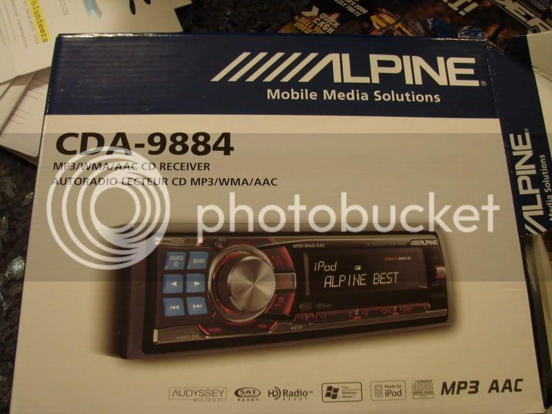 Alpine w900bt on