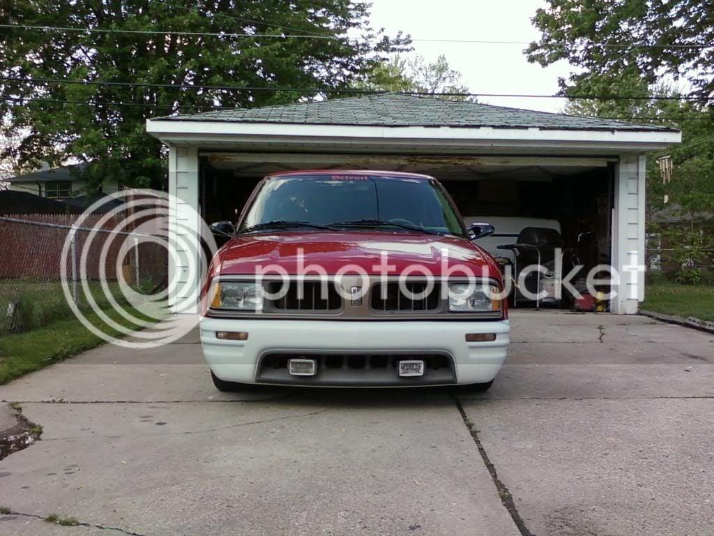 Front bumper conversion   S-10 Forum