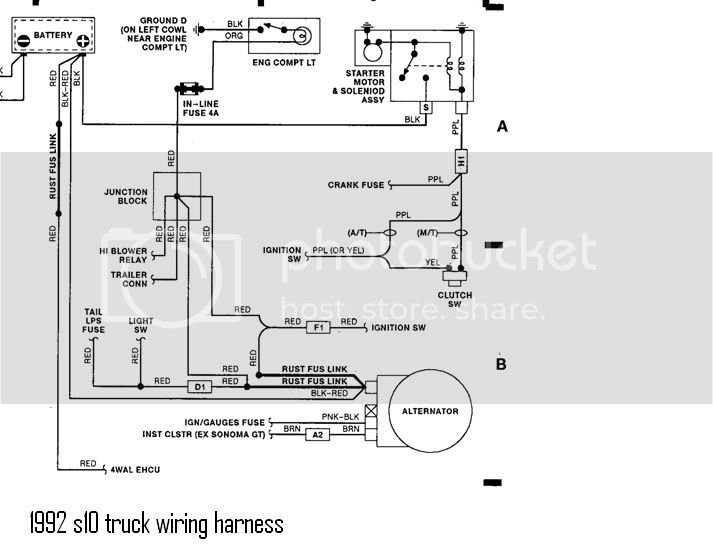 1992s10wiringdiagram  C Wiring Diagram on auto body parts aftermarket for, speedometer calibration, chevrolet scottsdale, gmc sierra, transmission model, pipe brake booster engine, extended cab 2wd,