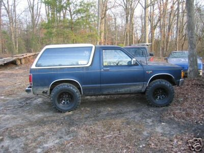 S10 Blazer With A Factory Removable Top S 10 Forum