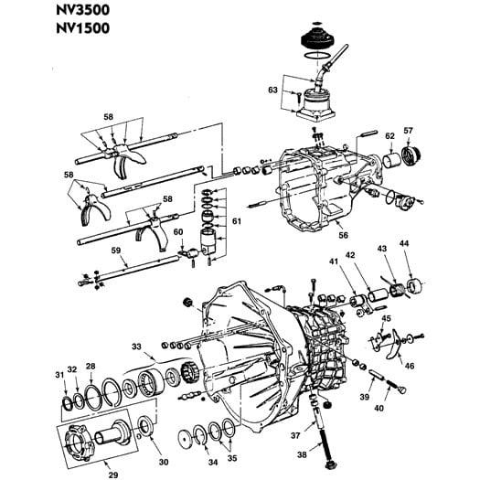 Input shaft bearing replacement | S-10 Forum