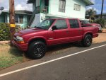Low Mileage 2003 S10 Crew Cab